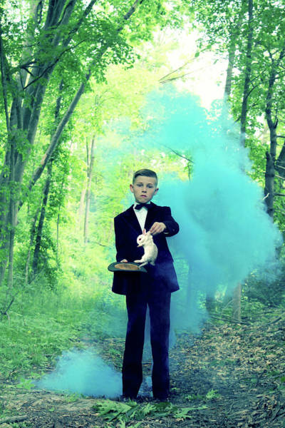 Wall Art - Photograph - Icarus 2 - The Magician by Jessica Beebe