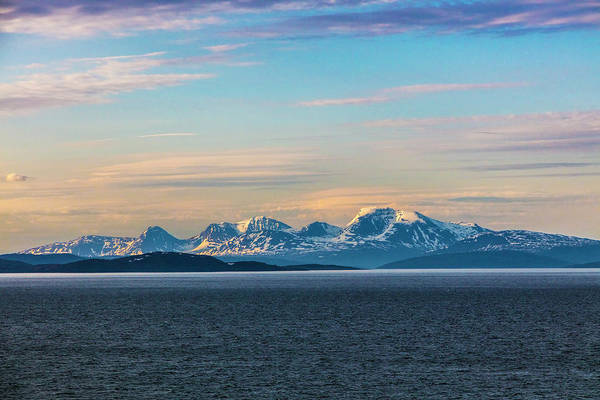 Photograph - Ice Capped Mountains Of Norway by Debra and Dave Vanderlaan