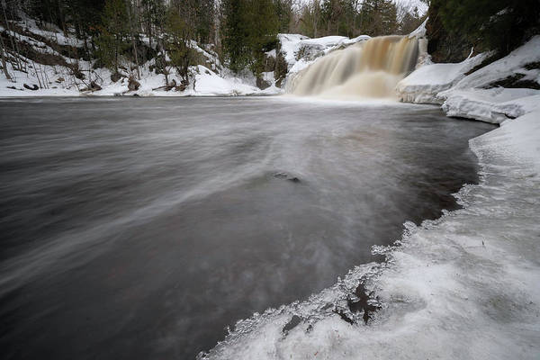 Photograph - Ice Castle Falls by Tailor Hartman