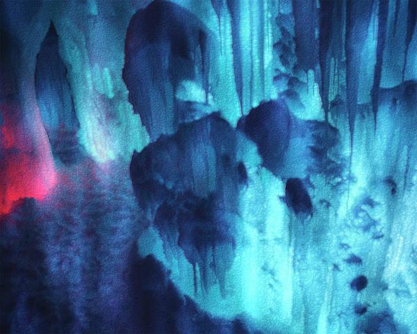Wall Art - Painting - Ice Castle Lake Geneva Wisconsin by Jack Zulli