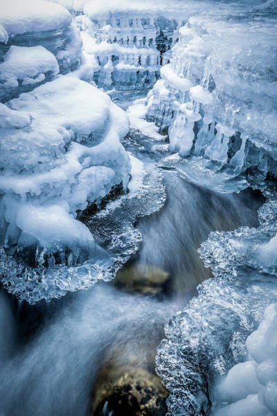 Photograph - Ice Cathedral by Tim Newton