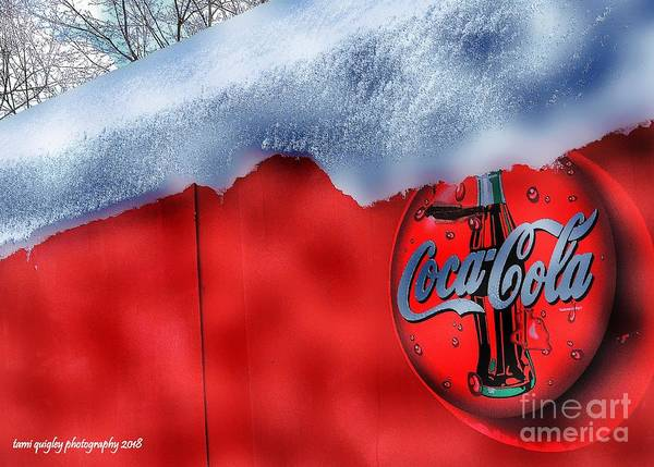 Photograph - Ice Cold Coca-cola by Tami Quigley
