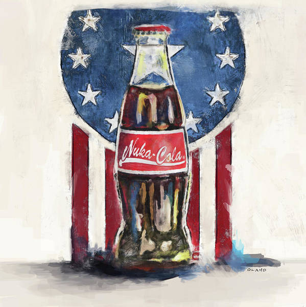 Lone Star Painting - Ice Cold Nuka Cola - Fallout by Joseph Oland