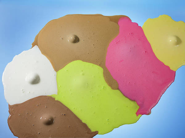 Ice Cream Photograph - Ice Cream Scoops Melting, Different by Jonathan Knowles