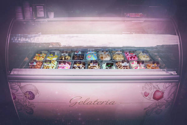 Wall Art - Photograph - Ice Cream Treats Gelateria Valencia Spain  by Carol Japp