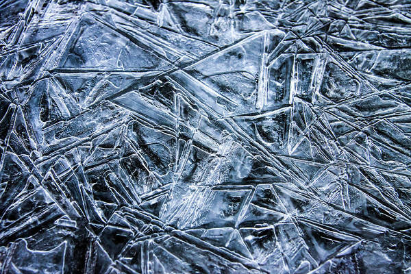 Photograph - Ice Crystals by Dawn Richards