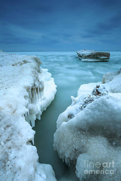 Wall Art - Photograph - Ice Currents by Andrew Slater