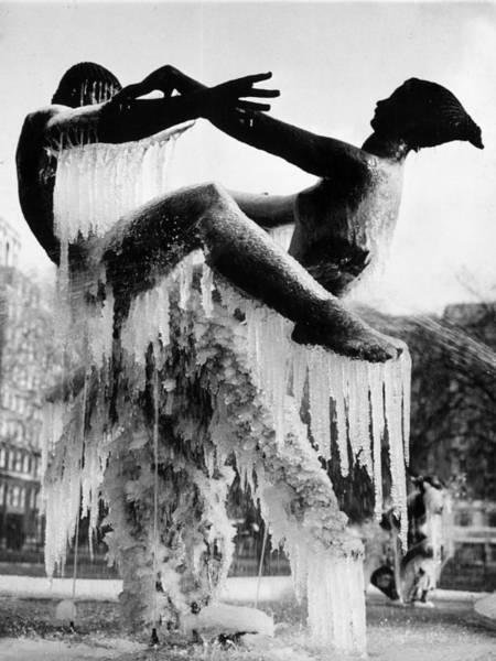 Fragility Photograph - Ice Dance by Leonard G Alsford