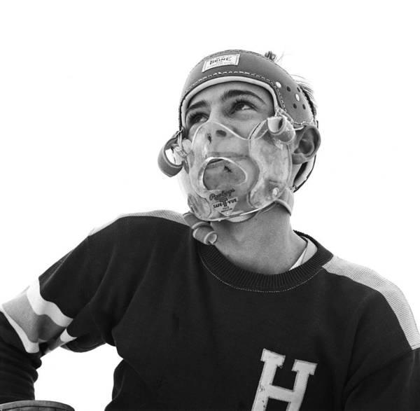 Sport Photograph - Ice Hockey Mask by Orlando