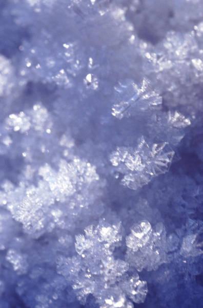 Full Frame Photograph - Ice by John Foxx