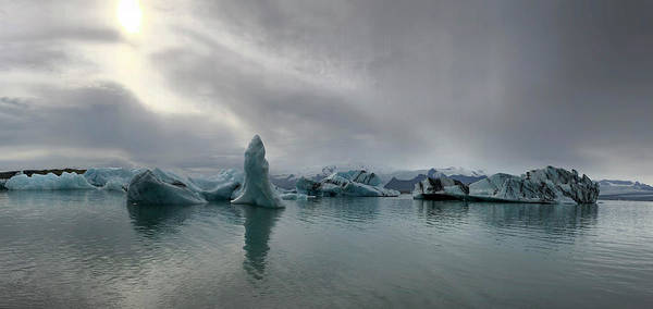 Photograph - Ice Lagoon by Jim Cook
