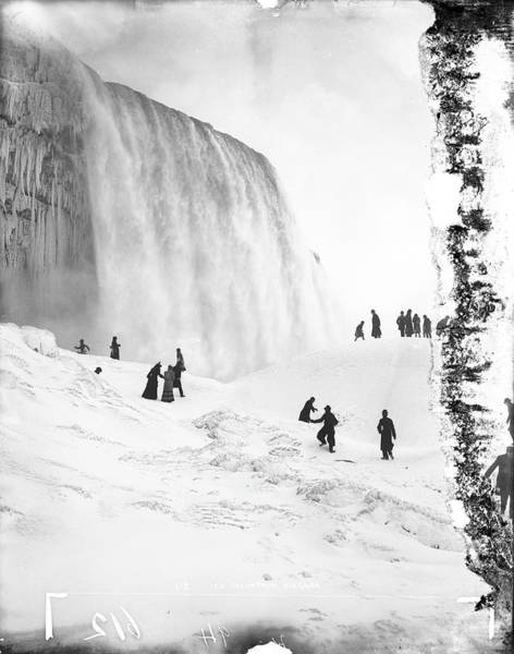 Vertical Landscape Photograph - Ice Mountain by The New York Historical Society