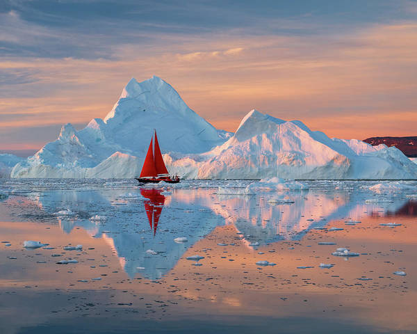 Photograph - Ice Peaks by Michael Blanchette