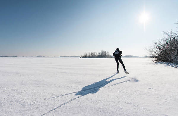 Sports Training Photograph - Ice Skating by Jaap-willem