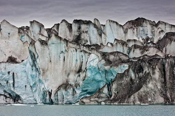 Scandinavian Photograph - Ice Walls- Jokulsarlon Glacial Lagoon by Panoramic Images