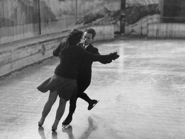 Heterosexual Couple Photograph - Ice Waltz by Kenneth Rittener