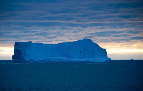 Sascha Wall Art - Photograph - Iceberg During Sunset - Antarctica by Sascha Grabow