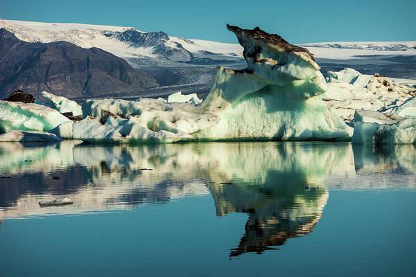 Photograph - Iceberg, Jokulsarlon by Peter OReilly