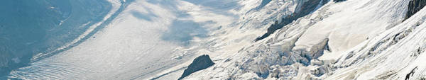 Wall Art - Photograph - Icefall Glacier Panorama by Fotovoyager
