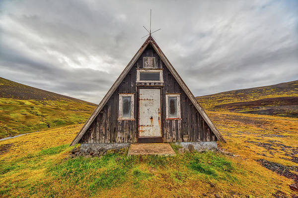Photograph - Iceland Chalet by David Letts