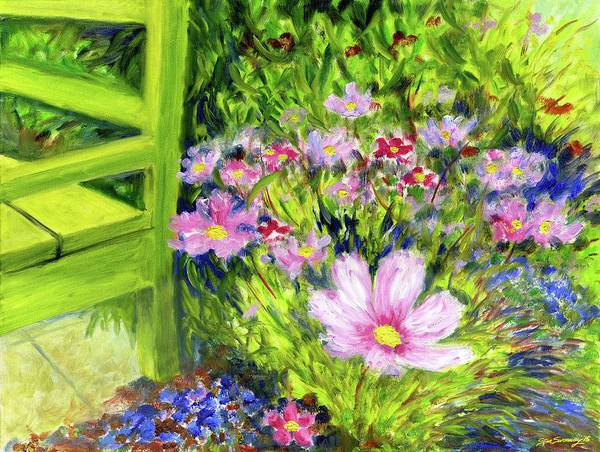 Painting - Iceland Flowers by Stan Sweeney