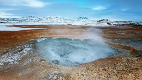 Photograph - Iceland Geothermal Field II by Joan Carroll