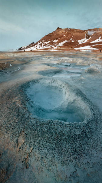 Photograph - Iceland Geothermal Field by Joan Carroll