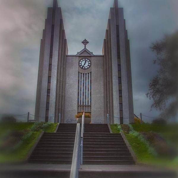 Photograph - Iceland Landmark by Jim Cook
