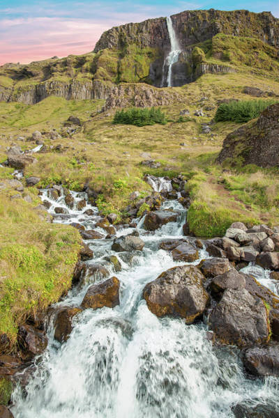Photograph - Iceland Waterfall by David Letts