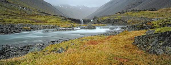 In The Grass Photograph - Iceland Waterfall by The World Is Beautiful