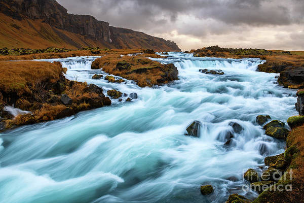 Wall Art - Photograph - Icelandic Falls by Jamie Pham
