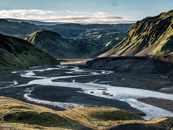 Photograph - Icelandic Landscape. by Usha Peddamatham