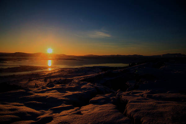 Photograph - Icelandic Sun Rise by Kevin Banker