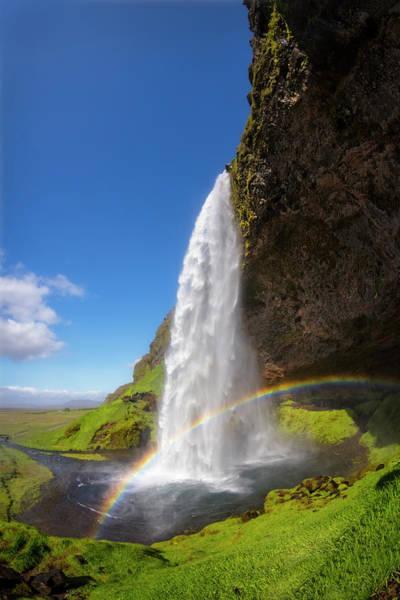 Photograph - Icelandic Waterfall by Debra and Dave Vanderlaan
