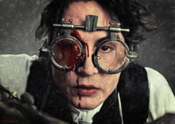 Johnny Depp Painting - Ichabod Crane - Sleepy Hollow by Zapista Zapista