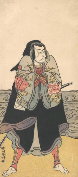 Relief - Ichikawa Danjuro V by Katsukawa Shunko