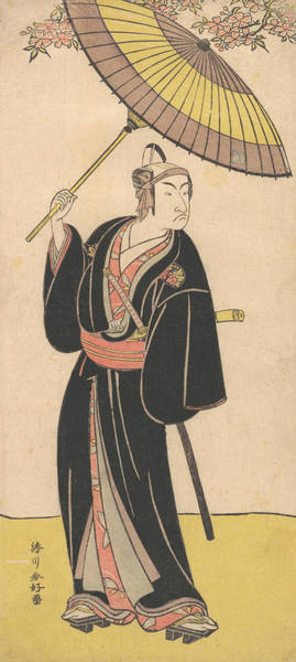 Relief - Ichikawa Monosuke IIi In The Role Of The Otokodate Sukeroku by Katsukawa Shunko