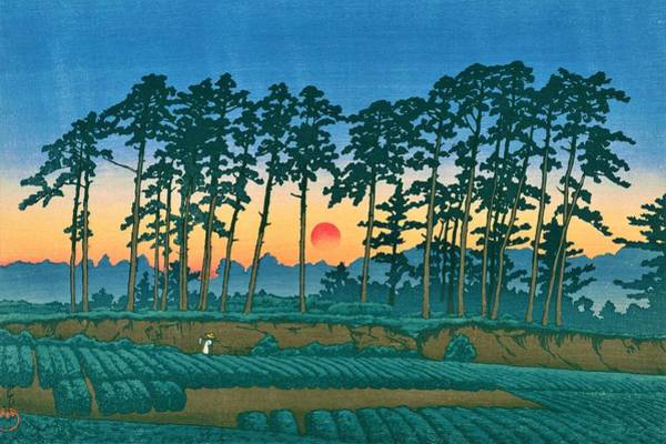 Wall Art - Painting - Ichinokura - Top Quality Image Edition by Kawase Hasui