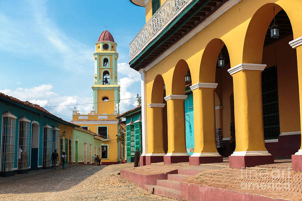 Colonial Wall Art - Photograph - Iconic And Beautiful Tower In Trinidad by Sabino Parente