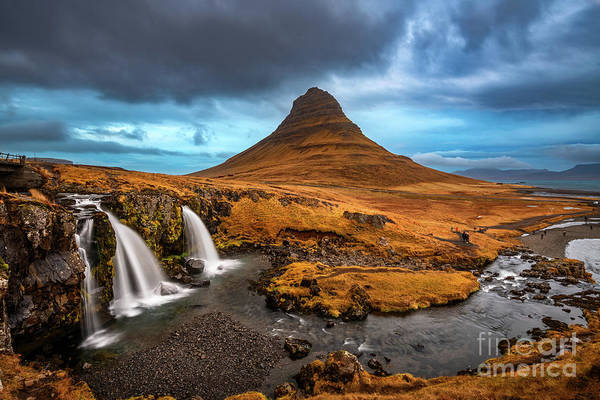 Wall Art - Photograph - Iconic Kirkjufell by Jamie Pham