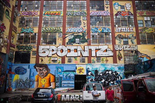 Exhibition Photograph - Iconic New York Graffiti Landmark To Be by Andrew Burton
