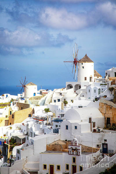 Photograph - Iconic Oia by Scott Kemper