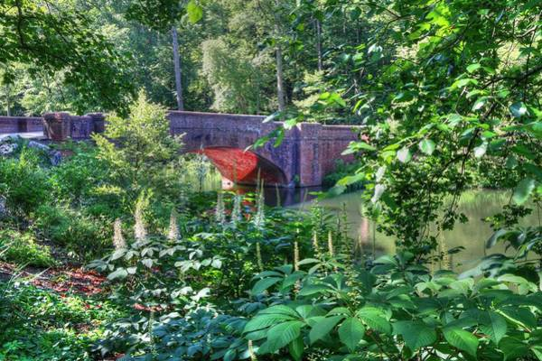 Photograph - Iconic Red Brick Bridge  by Carol Montoya
