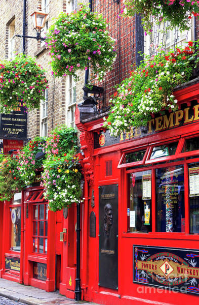 Wall Art - Photograph - Iconic Temple Bar Pub Dublin by John Rizzuto