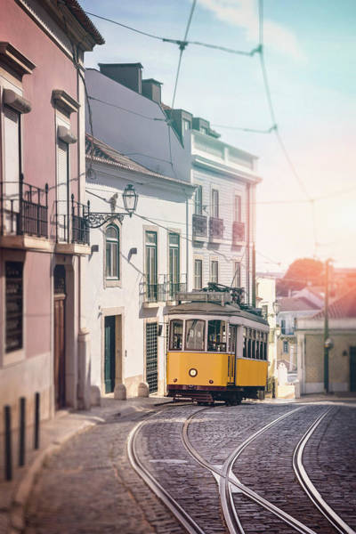 Wall Art - Photograph - Iconic Tram 28 Lisbon Portugal by Carol Japp