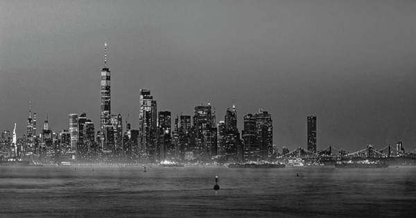 Photograph - Icons Of New York City Bw by Susan Candelario