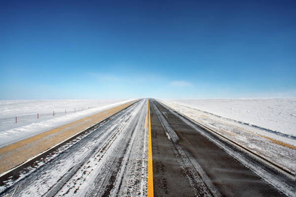 Photograph - Icy Roads by Todd Klassy