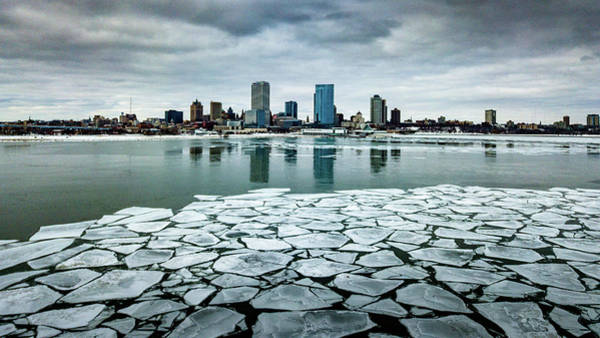 Photograph - Icy Skyline by Randy Scherkenbach