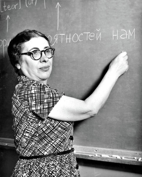 Wall Art - Photograph - Ida Rhodes, American Mathematician by Science Source
