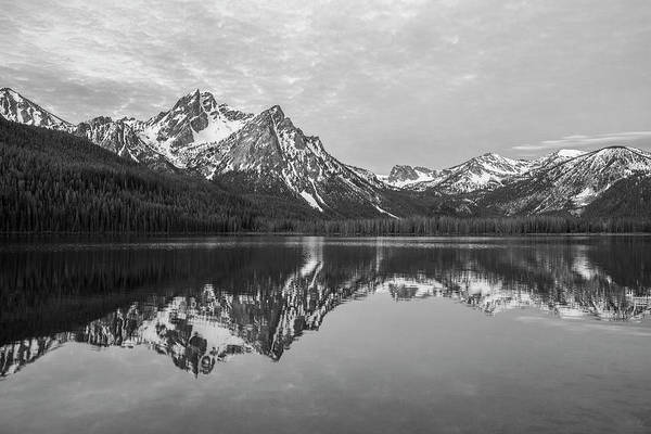 Wall Art - Photograph - Idaho - Black And White by Aaron Spong